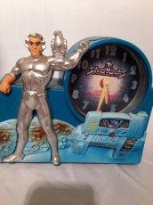 """画像1: """"Silver Hawks"""" Vintage Clock (1)"""