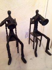 画像2: Vintage Human&Trumpet Obje (2)