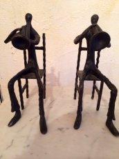 画像3: Vintage Human&Trumpet Obje (3)