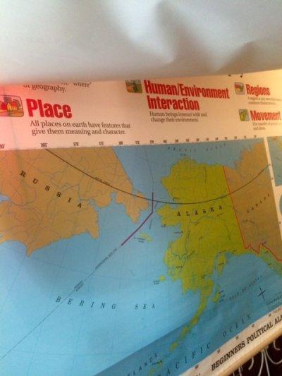 """画像3: """"Rand McNally""""World Map"""