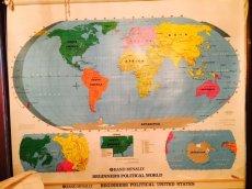 """画像2: """"Rand McNally""""World Map (2)"""