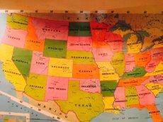 """画像5: """"Rand McNally""""World Map (5)"""