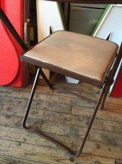 画像7: Vintage Industrial Folding Chair (7)