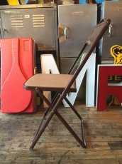 画像8: Vintage Industrial Folding Chair (8)