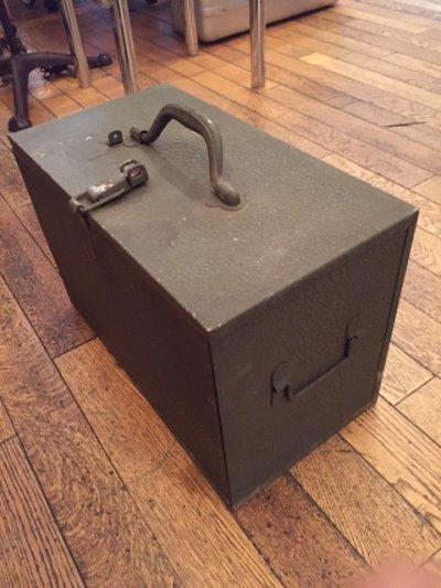 """画像3: """"Military"""" Vintage Tool Box"""