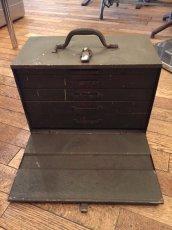 """画像1: """"Military"""" Vintage Tool Box (1)"""
