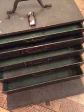 """画像7: """"Military"""" Vintage Tool Box (7)"""
