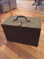 """画像2: """"Military"""" Vintage Tool Box (2)"""