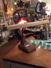 画像10: Industrial 2灯 Portable Desk Lamp 50s〜60s (10)