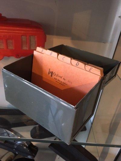 画像3: Vintage File Box