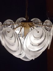 画像1: Lucite Panel Pendant Light  (1)