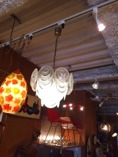 画像3: Lucite Panel Pendant Light