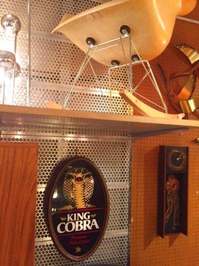 """画像2: """"King Cobra"""" Beer Light Sign"""