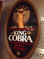 """画像5: """"King Cobra"""" Beer Light Sign (5)"""