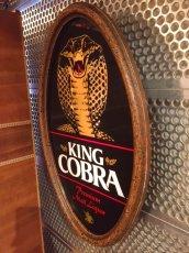 """画像6: """"King Cobra"""" Beer Light Sign (6)"""