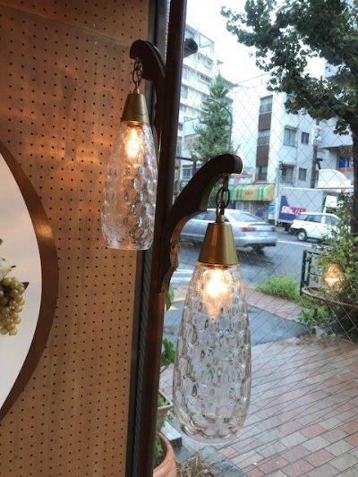画像1: Vintage 2灯 Pole Lamp