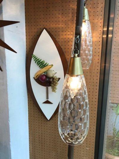 画像2: Vintage 2灯 Pole Lamp