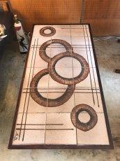 画像3: Vintage Tile Table (3)