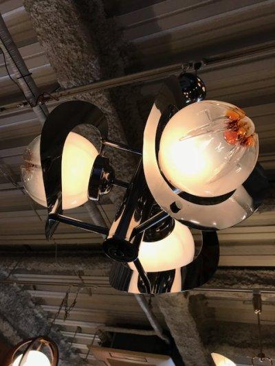 """画像2: """"Murano"""" Crome Pendant Light"""