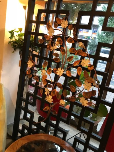 画像2: Flower & Leaf Wall Sculpture