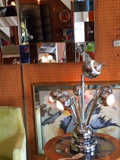 画像3: 5灯 Chrome Lamp