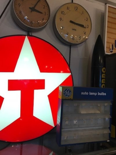 "画像1: ""Texaco"" Light Up Sign"