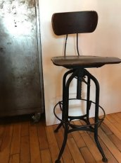 """画像3: """"Toredo"""" Drafting Chair (3)"""