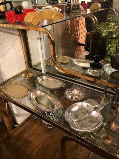 画像1: Silver Tray