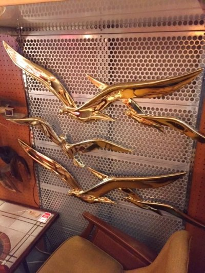 画像3: Gold Birds Wall Deco