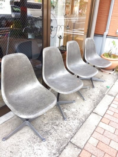 "画像1: ""Herman Miller"" Eames Side Shell Chair"