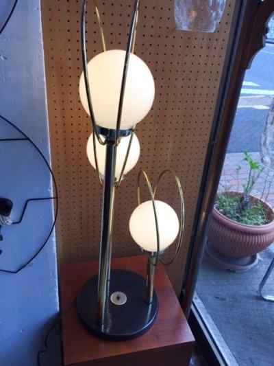 画像1: 3灯 Gold Lamp