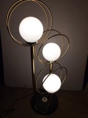 画像1: 3灯 Gold Lamp (1)