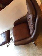 画像10: Leather Sofa &Ottoman (10)