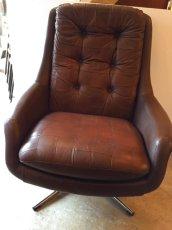 画像2: Leather Sofa &Ottoman (2)