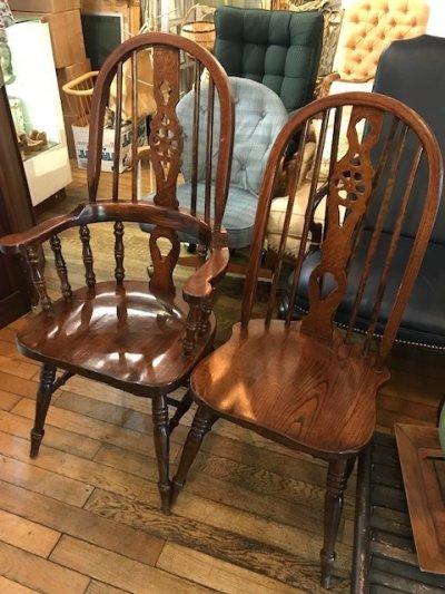 画像1: Vintage Wooden Chair