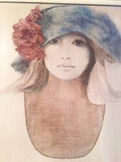 """画像2: """"Rosamond"""" Vintage Wall Hang (2)"""