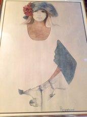 """画像1: """"Rosamond"""" Vintage Wall Hang (1)"""