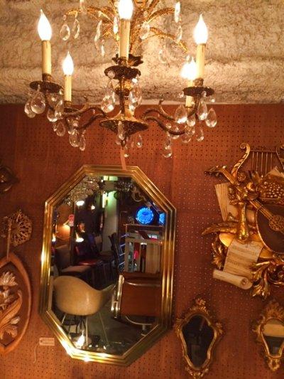 画像3: Gold Wall Mirror