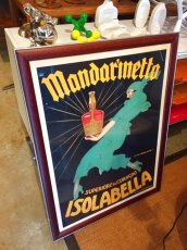 "画像3: ""ISOLABELLA"" Vintage Art Poster Wall Hang (3)"