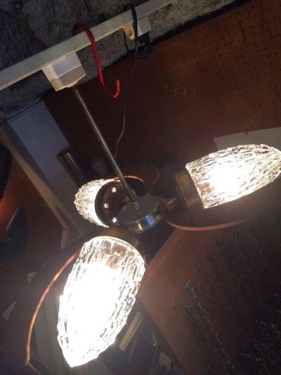 画像1: 3灯  Pendant Light