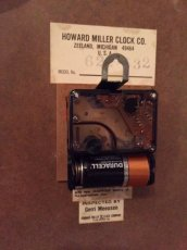 """画像6:  """"HOWARD MILLER"""" Wall Clock (6)"""
