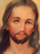 """画像3:  """"Jesus"""" Wall Clock (3)"""