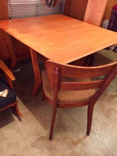 "画像2: ""Heywood-Wakefield""  Dining Table"