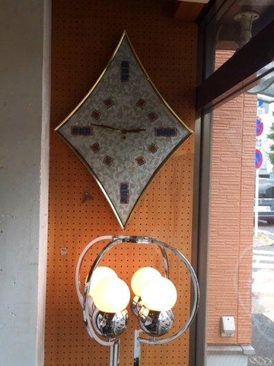 """画像1: """"Rhombic""""Wall Clock"""