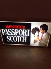 "画像2: ""Passport Scotch""  Light Sign (2)"