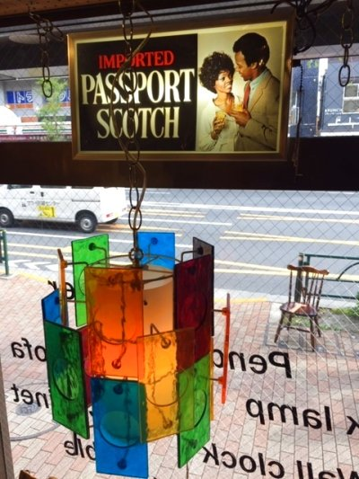 "画像1: ""Passport Scotch""  Light Sign"