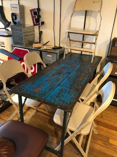 画像3: Vintage Work Table