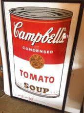 "画像2: ""Campbell's "" Andy Warhol Wall Hang (2)"