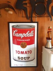 "画像5: ""Campbell's "" Andy Warhol Wall Hang (5)"