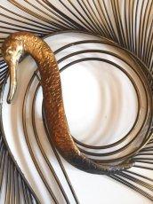 "画像3: ""Curtis Jere""Peacock Brass Wall Sculpture (3)"